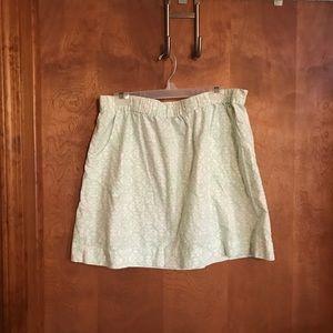 Merona light green skirt